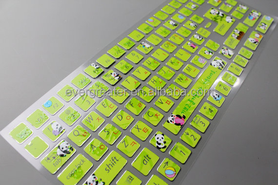 Custom design stickers for keyboardkeyboard stickers for laptops