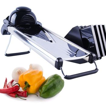 Mandolin Slicer 5 Stainless Steel V Blade Manual Vegetable Cutter Potato Carrot Grater Onion Slicer Kitchen Tools