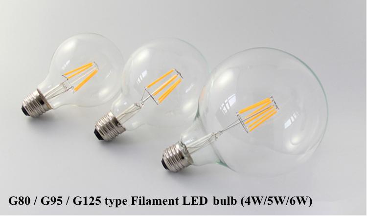 12v Dc Led Light Bulb A60 4w Led Filament Lamp A19 Smart Lighting ...