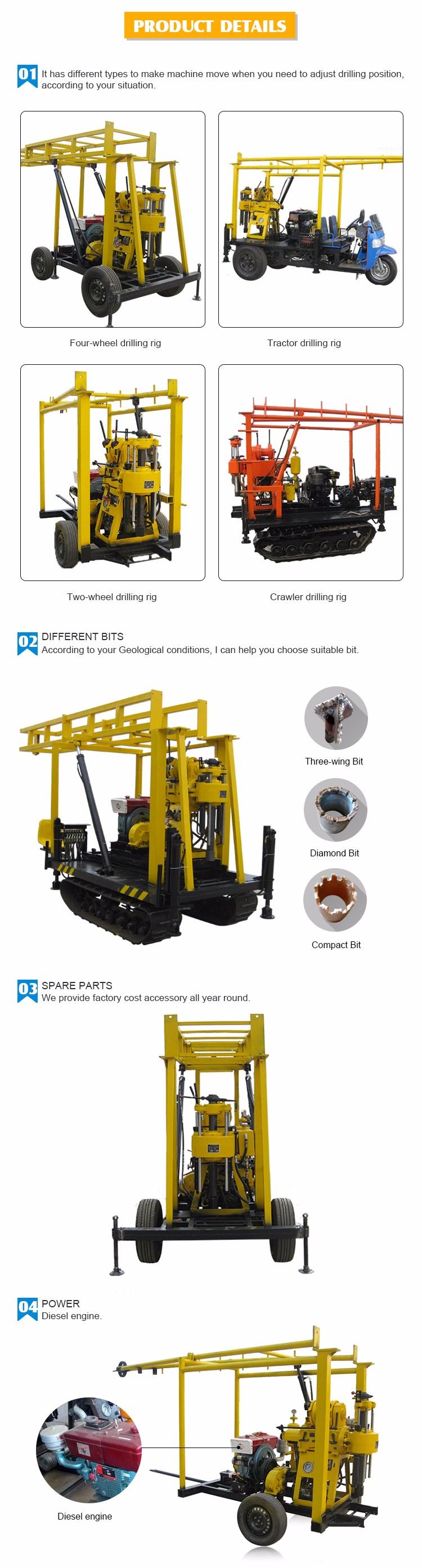 directional drilling machine for sale