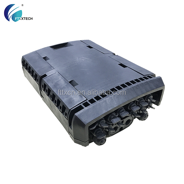 feitian FTTH ip65 outdoor fiber optic node with pre-connection fiber optic joint enclosure