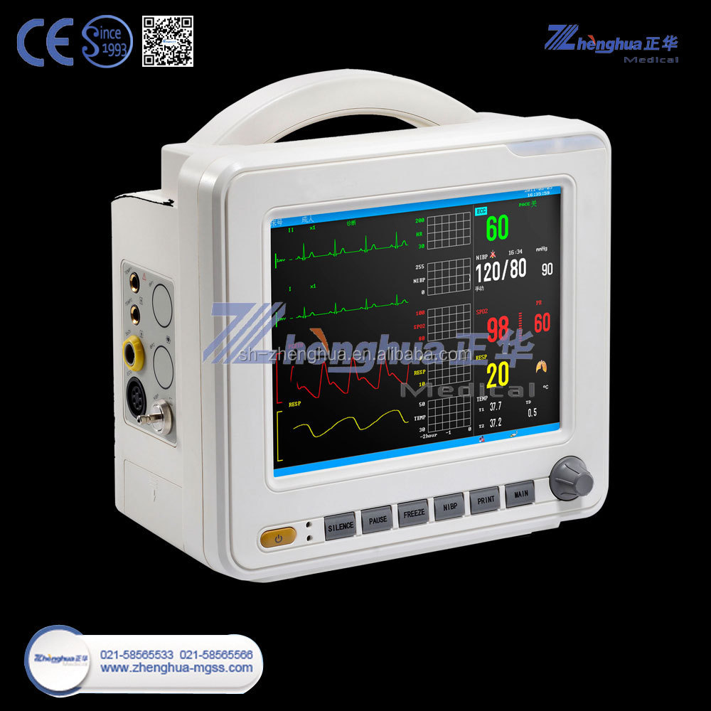 Vet Multiparameter Etco2 Patient Monitor Veterinary Patient Monitor