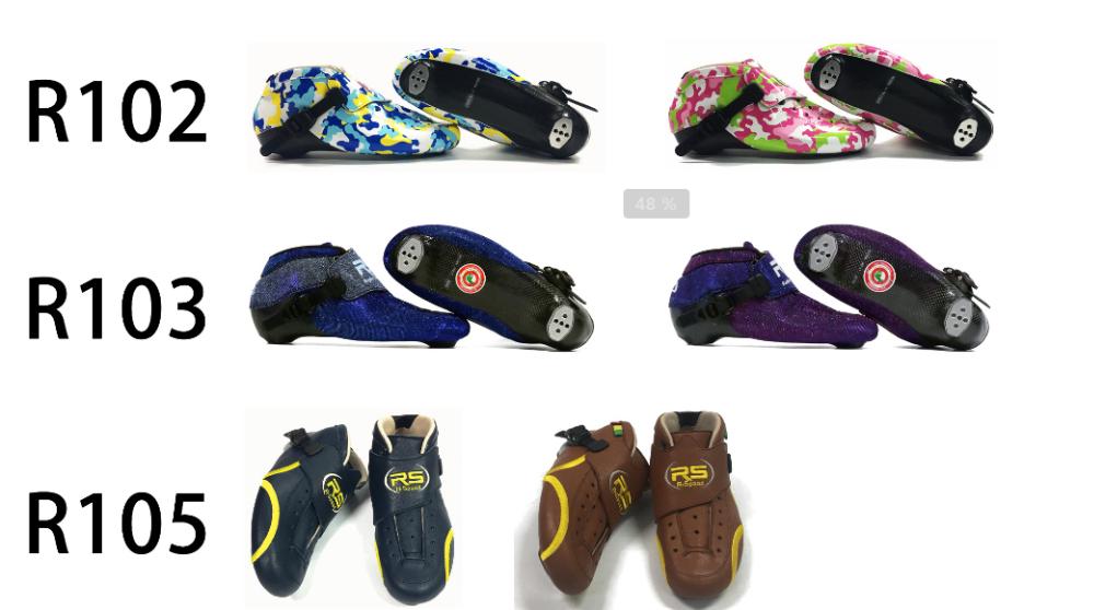 Powerslide Karbon fiber Yarış rulo ayakkabı 4 110mm 125mm tekerlekler inline hız paten