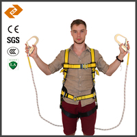 Polyester fall protection safety belt harness manufacturers in china