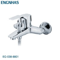 Brass chrome single hole bathtub tap repair