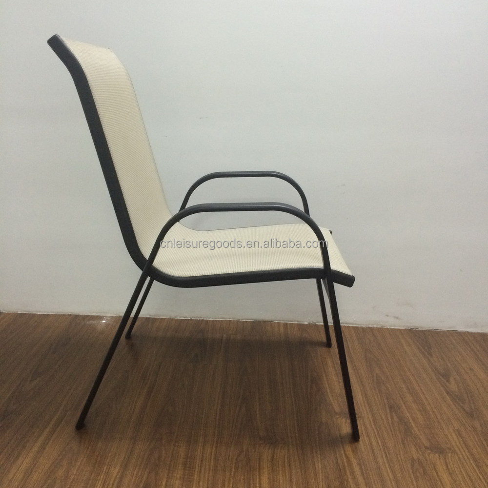 2015 Outdoor Cheap Metal Stacking Chair Buy Metal Stacking Chair Metal Sling Chair Metal