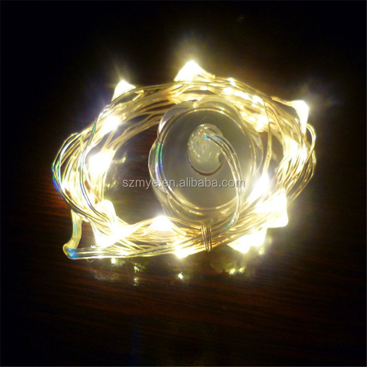 Led Fiber micro optic wall mounted fiber indoor holiday decorative gift string light