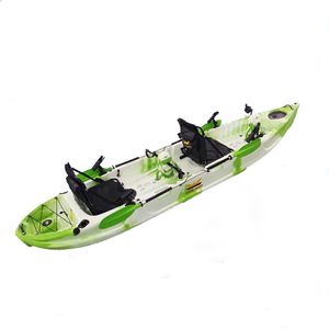 2 persons pedal sea kayak for Fishing