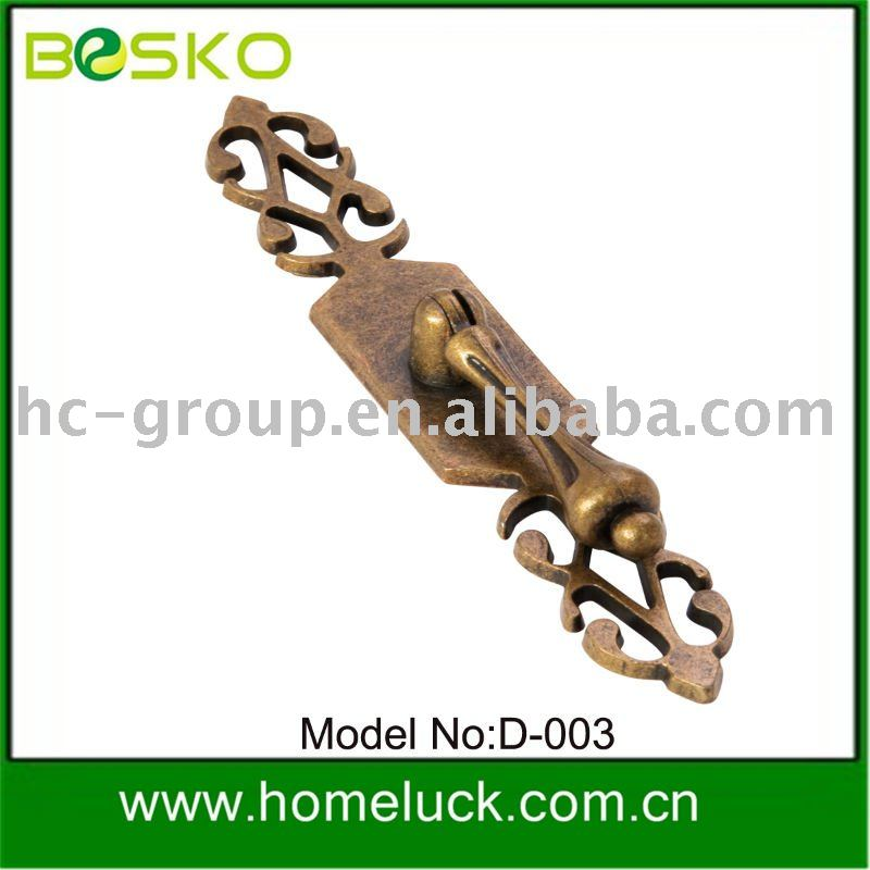 Classical style zinc alloy building hardware handle