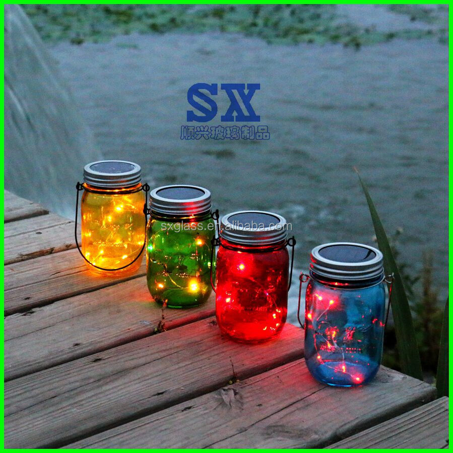 Solar Jars New Design Solar Mason Jarmason Sun Jarsolar Mason Jar Light