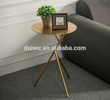 New Promotion modern cheap small metal accent side table