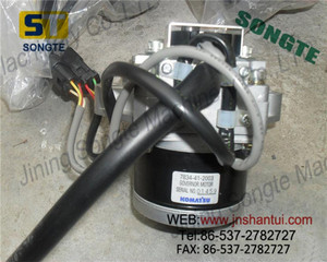 Original Excavator PC300-7 Throttle Motor 7834-41-3002