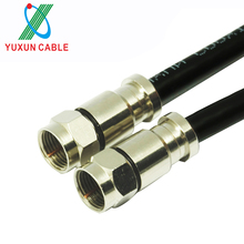 F Connector RG6 Antenna Coaxial Satellite Cable
