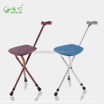 Bon Three Legs Cane Elderly Walking Stick With Chair Seat   Buy Three Legged  Walking Stick,Walking Cane Chair,Walking Stick With Chair Product On ...