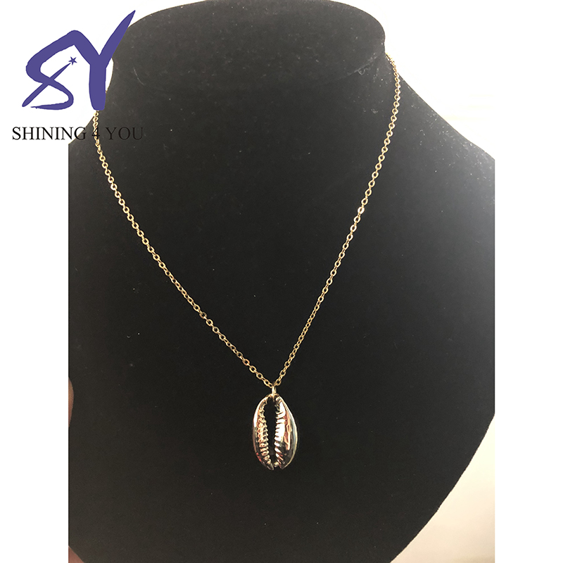 Trendy Dainty Jewelry Stainless Steel Sealife Pendant Necklace for Women