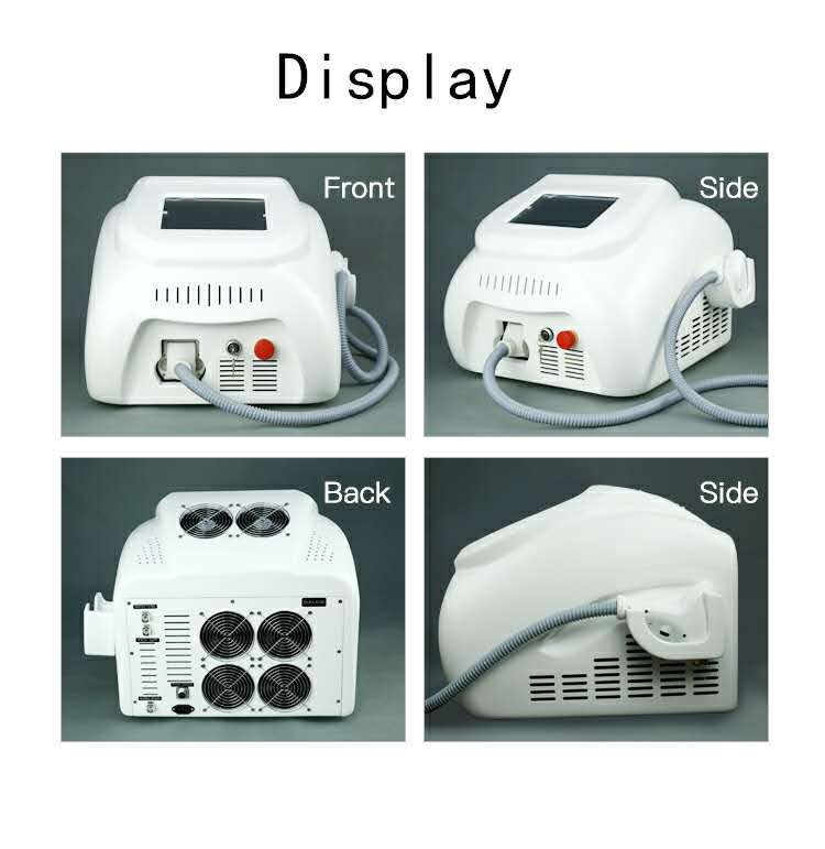 Factory Direct CE ISO Approved Effective 808nm 810 portable diode laser hair removal machine