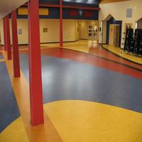 popular design 2mx20m pvc vinyl floor roll pvc raised floor price