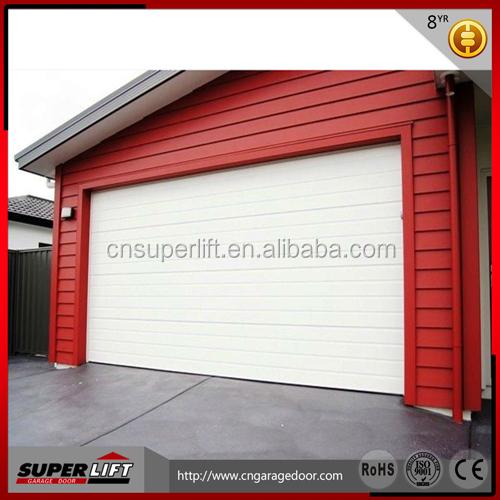 PPGI Skin Garage Door Sandwich Panel,sectional Single Panel Garage Door  High Quality