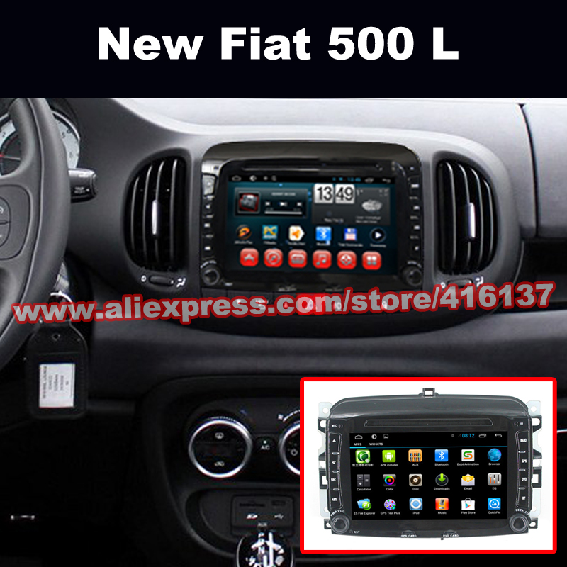 2 din android car dvd players gps glonass navigation with canbus for fiat 500 l support. Black Bedroom Furniture Sets. Home Design Ideas