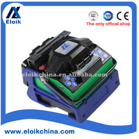 fiber optic cable splicing /Optical fiber fusion splicer pluggable battery ALK-88A providing internet online system upgrade