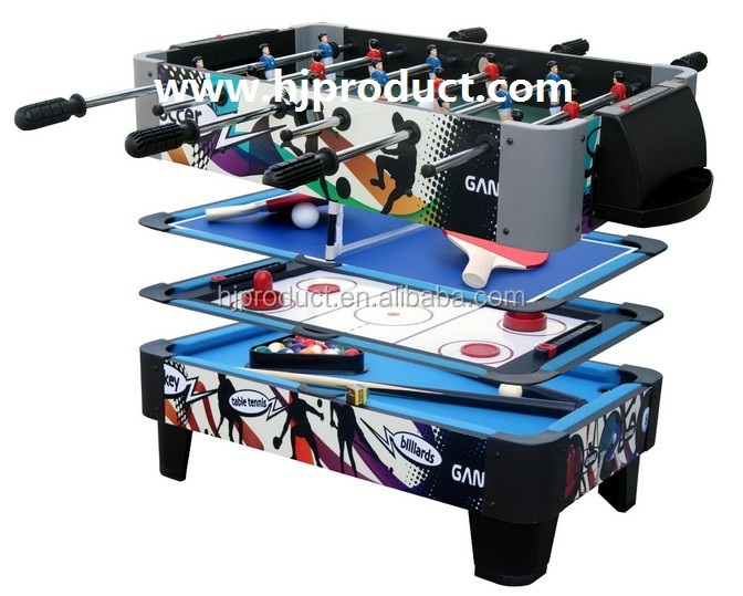 High Quality Factory Direct Wholesale Price Multi Purpose Game Function Pool  Table Soccer Table Hokcey 12
