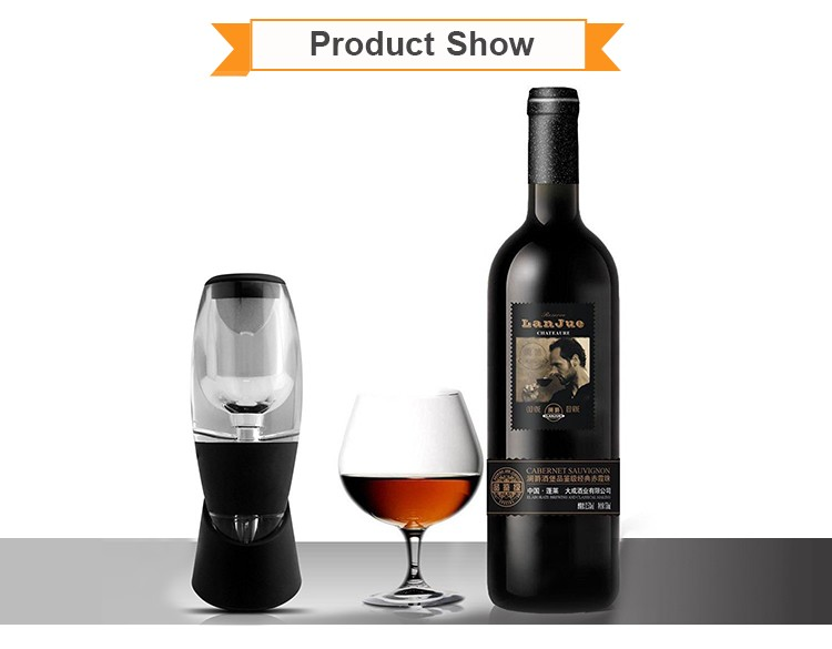Low Price portable easy travel wine decanters for sale
