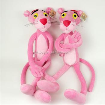 Lovely Soft Fabric Custom Made Long Leg Pink Tiger Plush Toy Buy