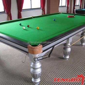 Solid Wood English Style Cheap Snooker Table Dimensions Ft Pool - Snooker table vs pool table