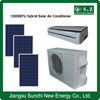 90% ACDC hybrid 9000btu 12000btu hot weather quiet best using & cost package solar small air conditioning unit