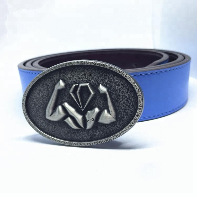 Custom metal fashion fancy leather belt buckle with your logo