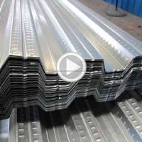 Building Material Galvanized Corrugated Perforated Metal Steel Deck