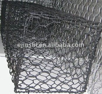 Heavy galvanized Gabion Boxes wire cage rock wall (Manufacturer) ASTM standard