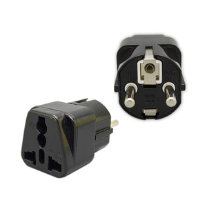 YD-9 hot sale uk universal to schuko travel adapter power plug 16A 240V