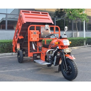 Cheap and Fine A5 200CC 250CC 300CC Tipper Cargo Tricycle Hydraulic Lift 3 Wheel Motorcycle