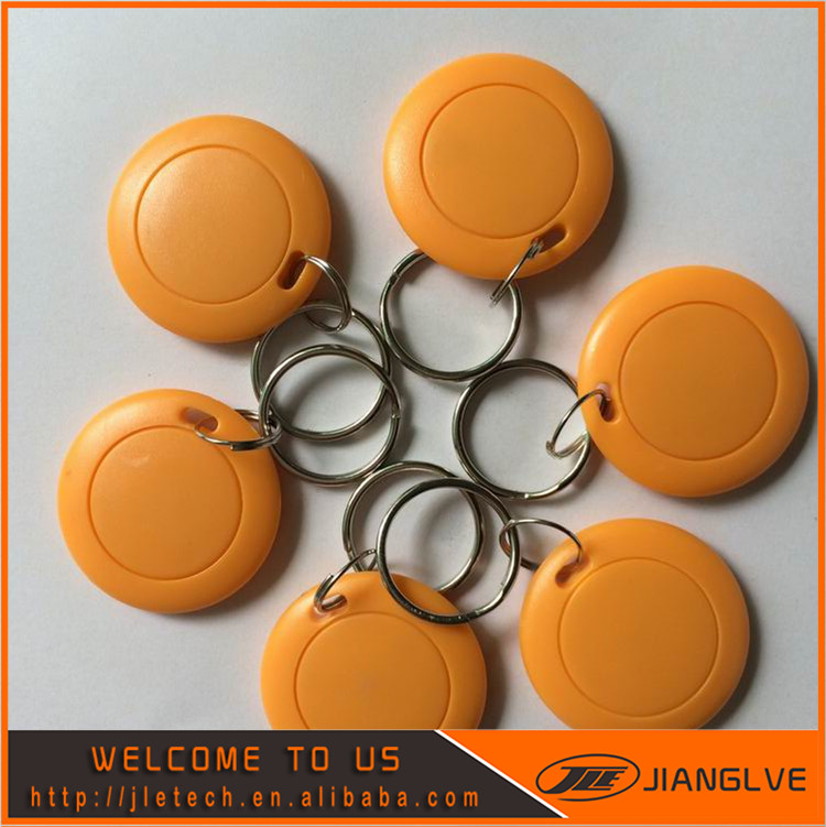 13.56MHz RIFD NFC Smart IC Key Fobs /Tags/Cards For Access Control & Attendance System