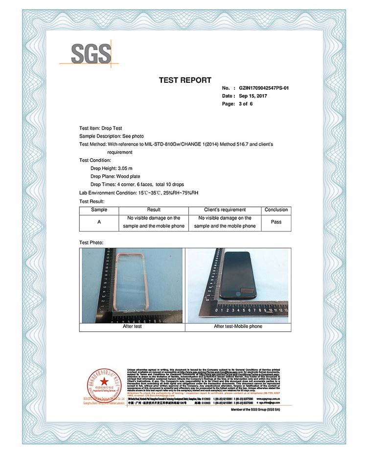 재고! Ispider SGS 인증 군사 고급 3 미터 드롭 보호 모바일 커버 아이폰 XR