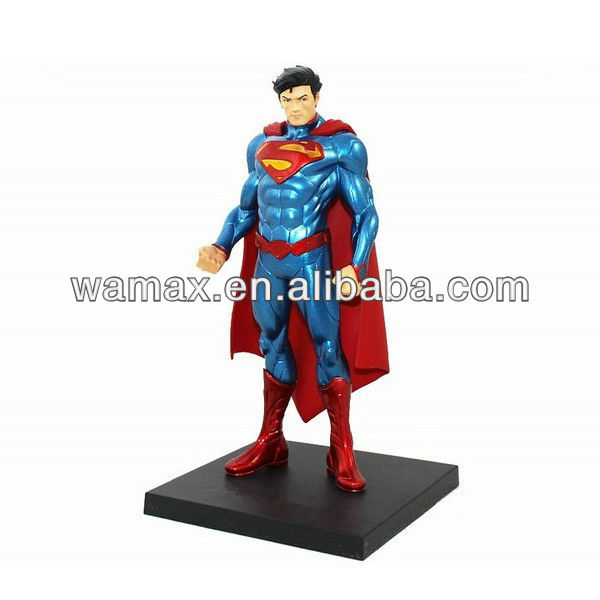 Custom superman action model figures