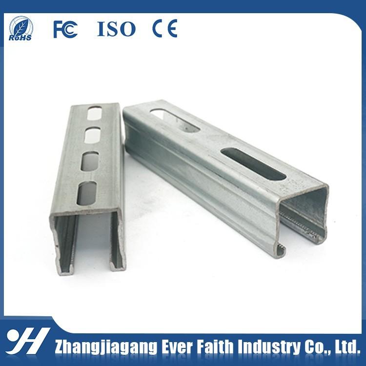 China Supplier Zinc Galvanized Steel Building Materials C Channel ...