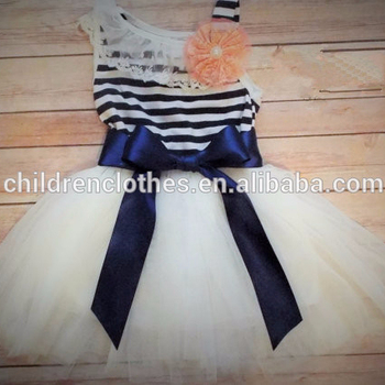 2018 Sunny Girl Clothing New Model Dresses Cute Baby Party Wear