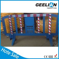 plastic road Barrier car parking security barricade/security plastic vehicle barrier