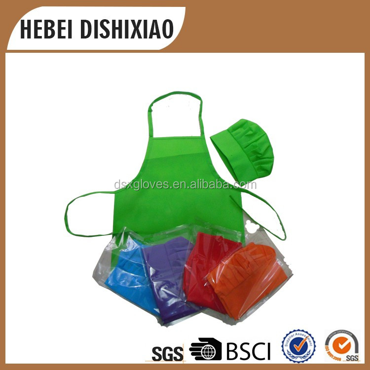 Child Aprons And Chef Hats Cheap Child Apons Set
