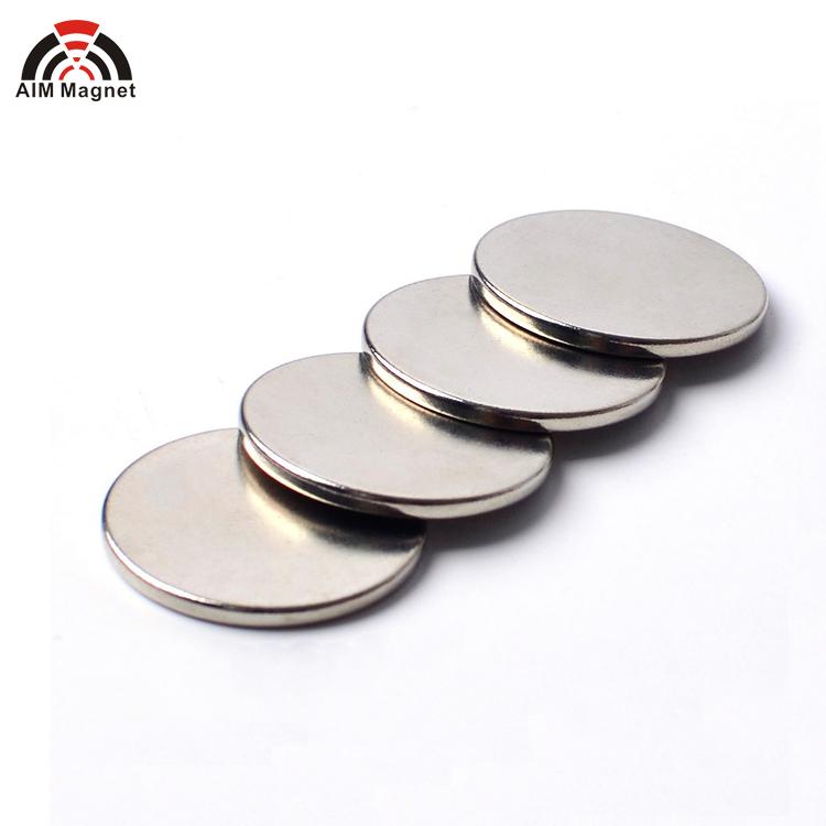 Super Forte Fornitore Della Cina Permanente Ndfeb N42 N52 magnete Al Neodimio prezzo