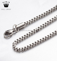 Wholesale 925 Sterling Silver Boxy Link Chain,Mens Silver Chain Necklace