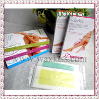 professional Pre Cut and large size body depilatory wax strips