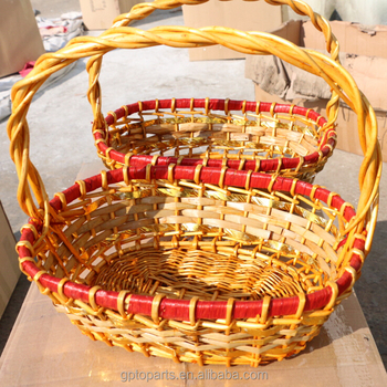 Stock Wholesale Gift Basket Empty Cheap Wicker Baskets Wholesaler ...