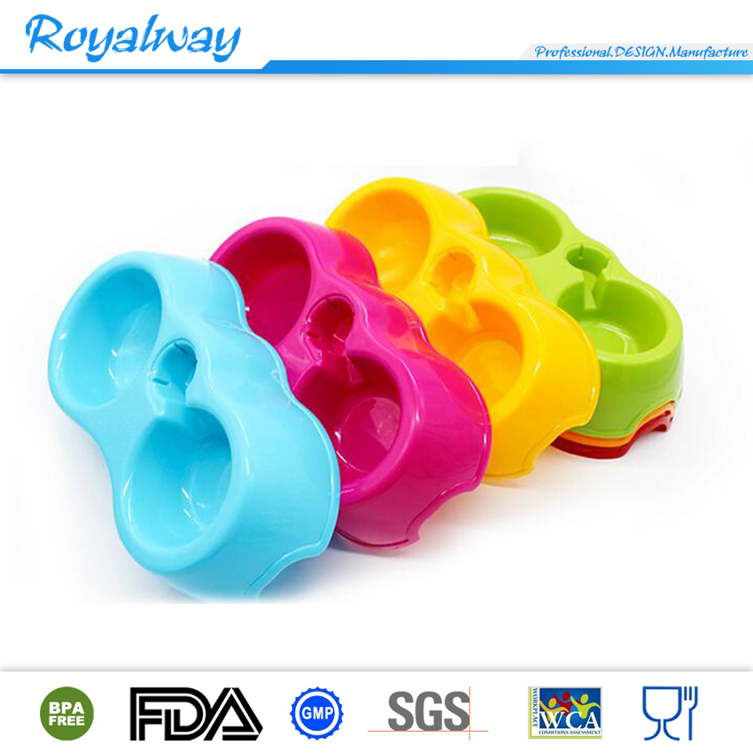 Plastic wholesale promotional eco friendly pet food bowl, dog bowl