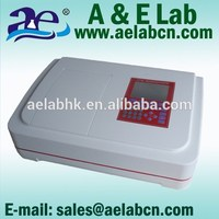 New design single beam uv visible range of spectrophotometer with high quality