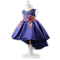 Kids party wear dresses for girls summer baby girl white dress for 1 years old 21st birthday party dresses