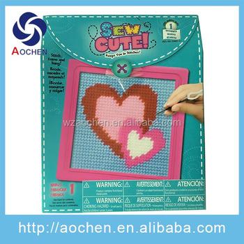 Handwork Craft Diy Oem Customized Design Craft Set For Kids Safety