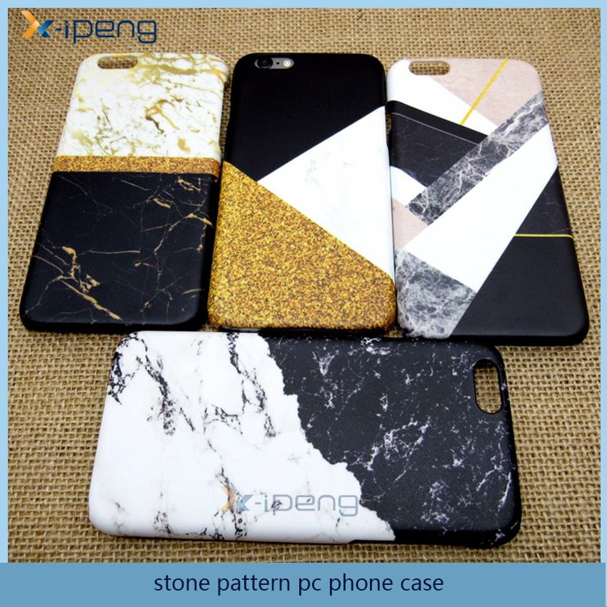 Hot popular stone pattern pc mobile phone back cover case for zte blade a610